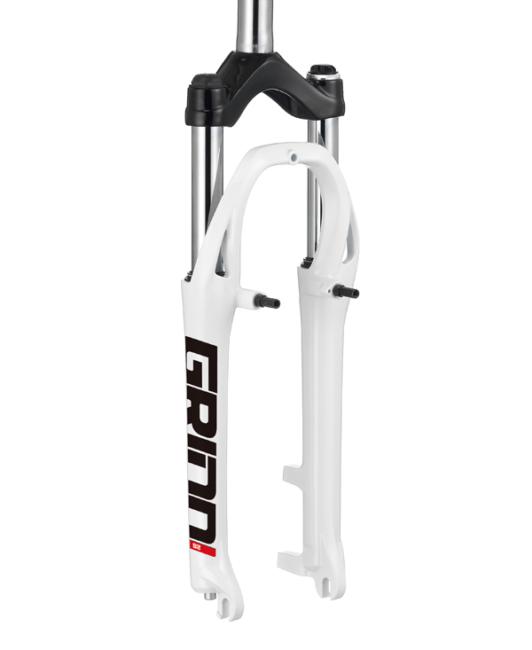 "GRIND bike Forks 26"", 25.4 Steel Stanchion"